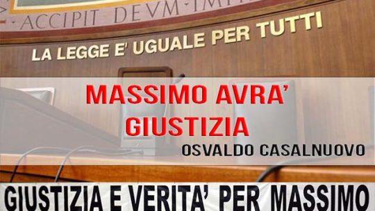 MASSIMO AVRA' GIUSTIZIA